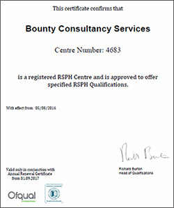 Bounty Consultancy Services  Centre 4683
